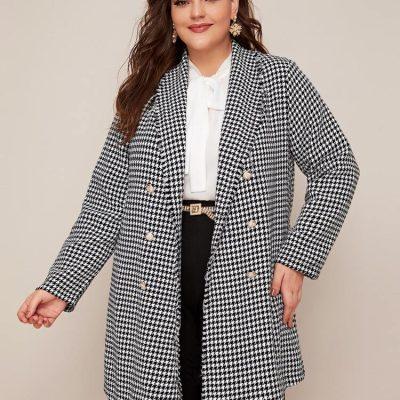 Plus size-παλτο-μπουφαν- all4woman