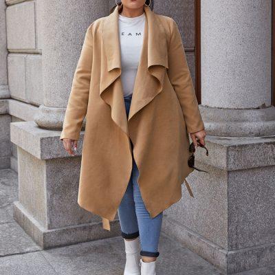 Plussize-παλτο-μπουφαν - all4woman